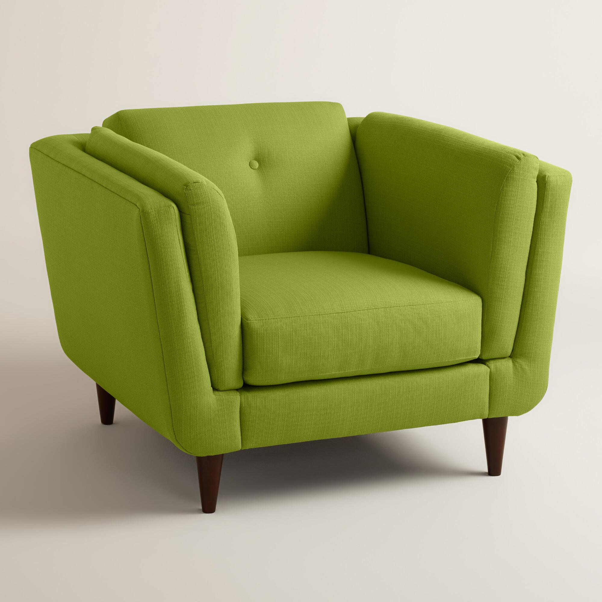 Cost Plus Chairs: Cost Plus World Market Textured Woven Reza Upholstered