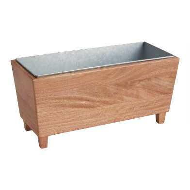 Wood Trough Wine Chiller