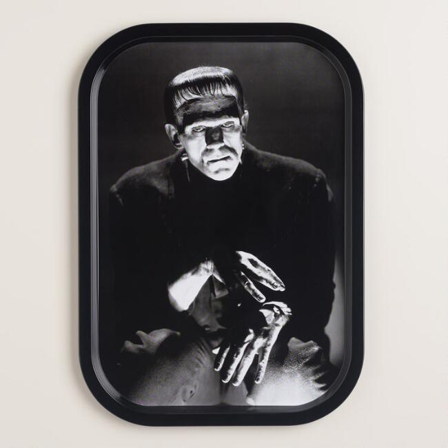 Frankenstein Tin Serving Tray