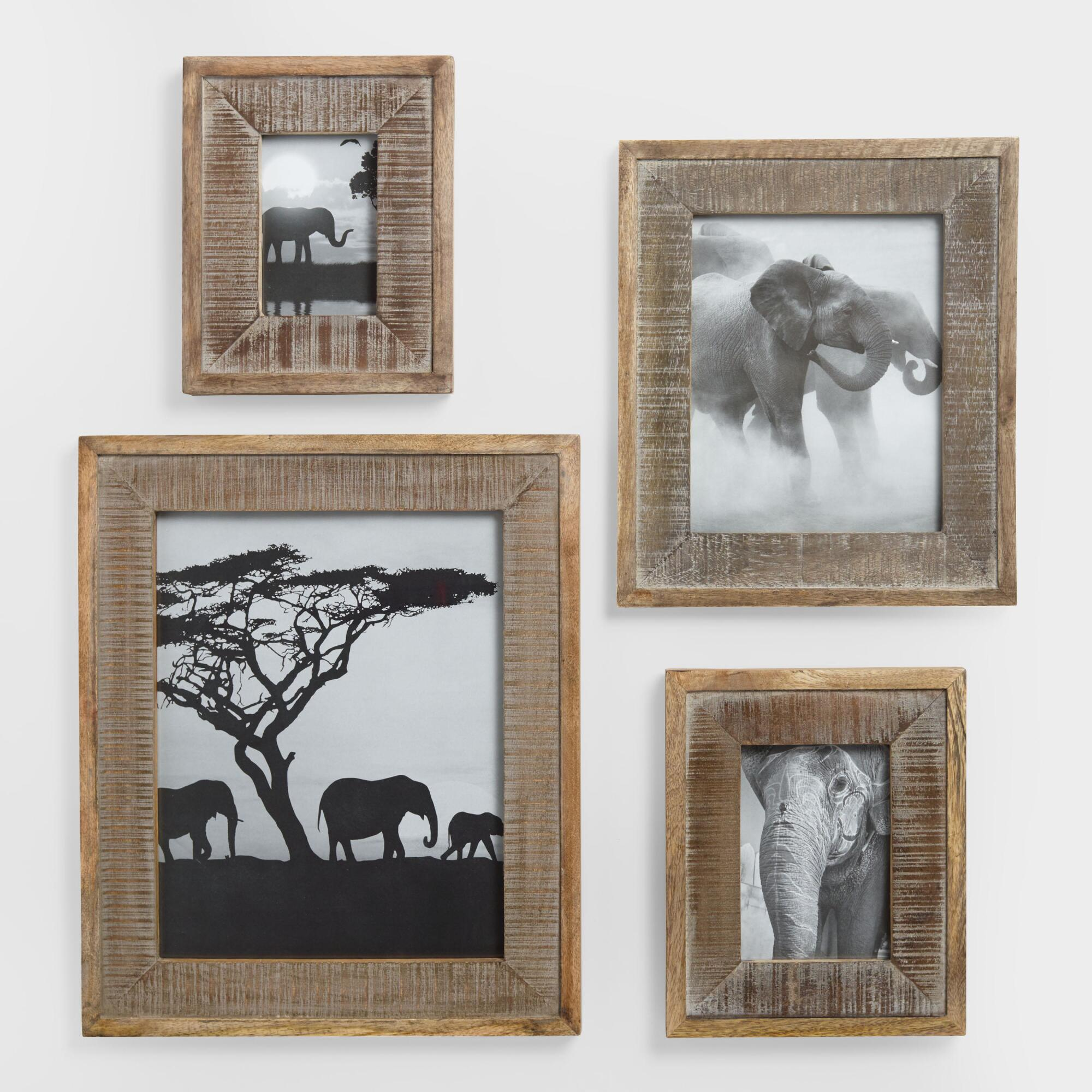 Wood taylor wall frames world market jeuxipadfo Choice Image