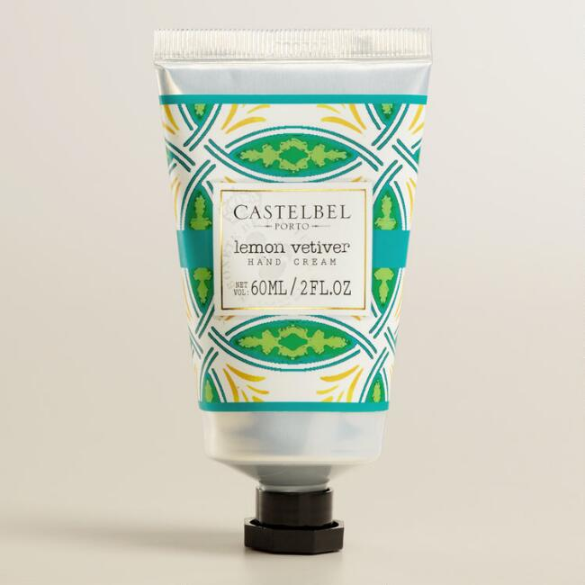 Castelbel Tile Lemon Vetiver Hand Creams, Set of 2