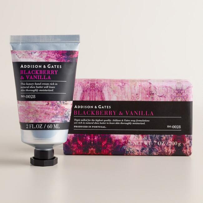 A&G Stonewash Blackberry and Vanilla Bath and Body Collection