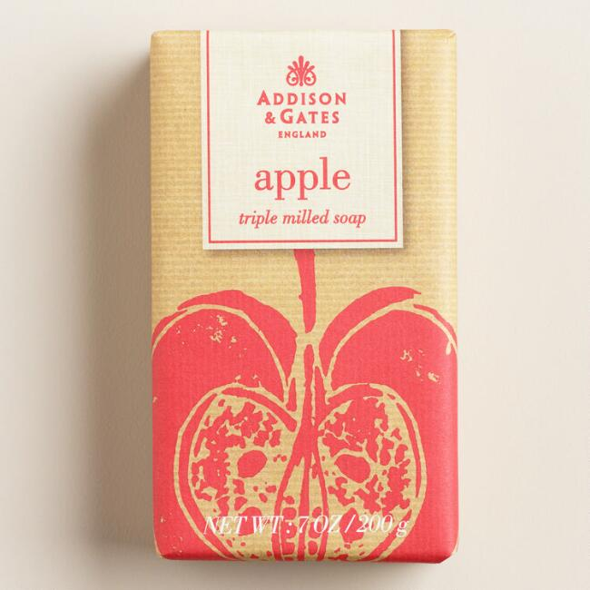 A&G Harvest Apple Bar Soaps, Set of 2