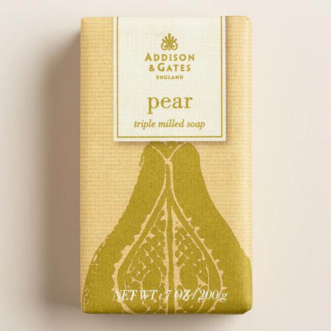 A&G Harvest Pear Bar Soap, Set of 2