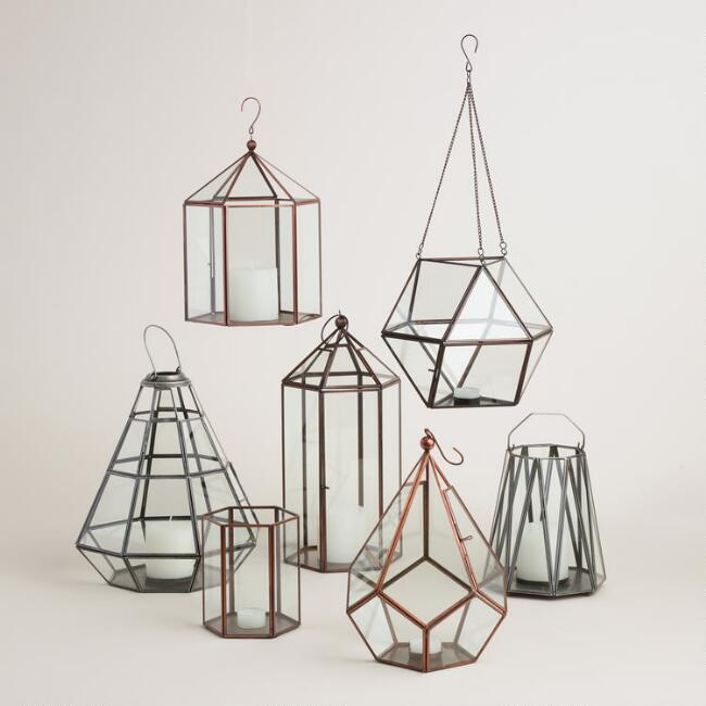 Riley Faceted Lantern Collection