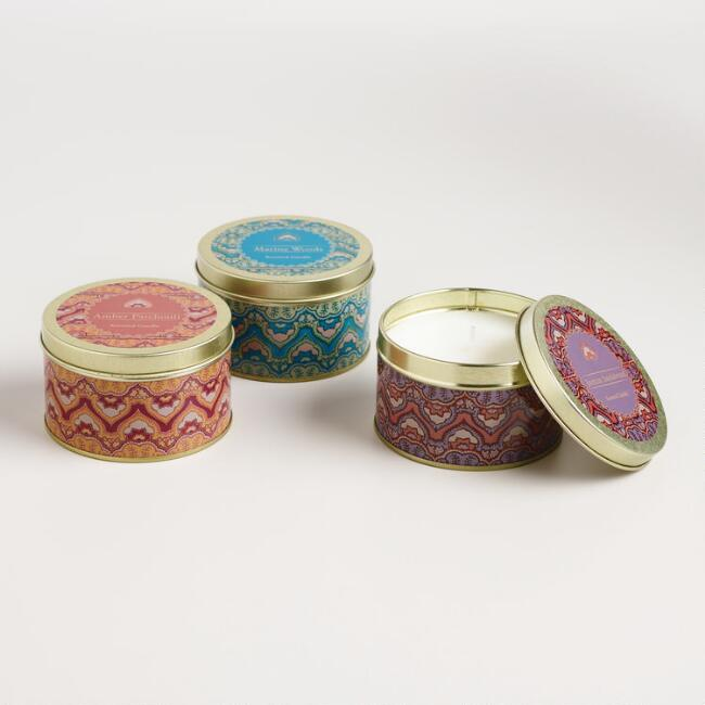 Clementine Scented Candle Tin