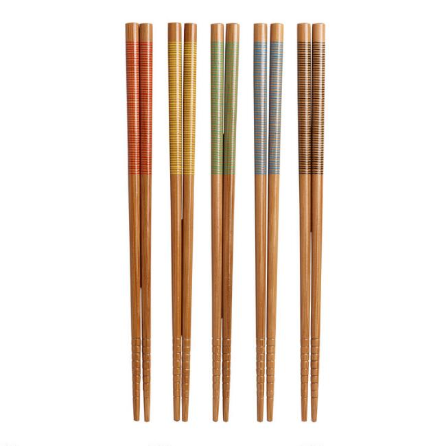 Stripe Chopsticks, 2 Sets