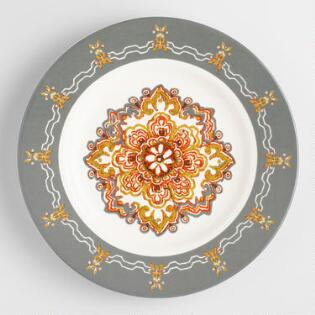 felicity salad plates set of 4 - Thanksgiving China Patterns