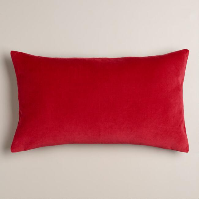 products pillow pattern line coral cover williams lumbar velvet applique c