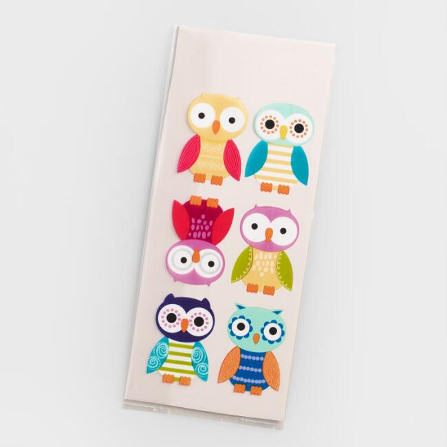Cello Owls Gift Bags, 16-Pack