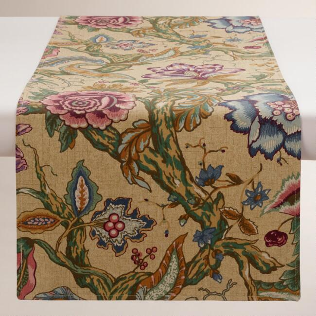 Floral Colette Table Runner