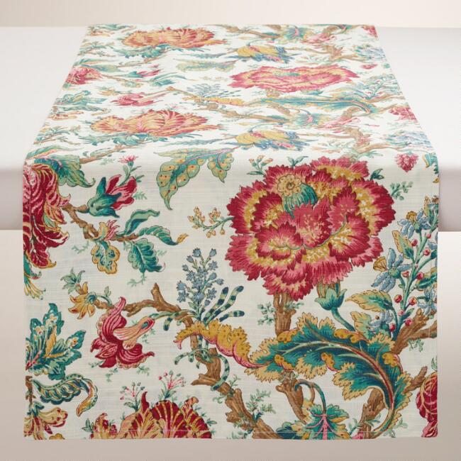 Floral Polina Table Runner