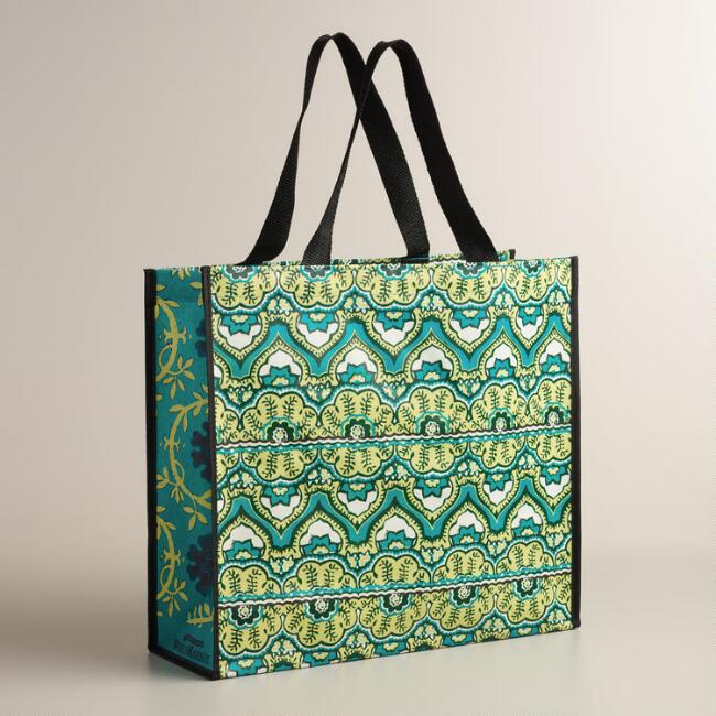 Blue Clementine Tote Bags, Set of 2