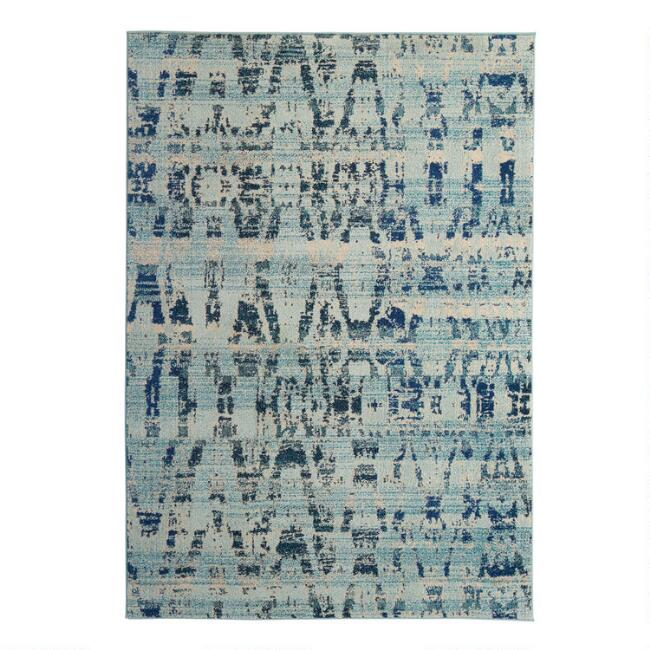 High Tide Blue Area Rug