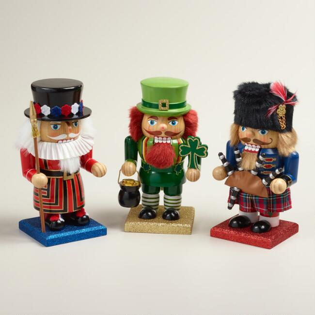 United Kingdom Nutcrackers, Set of 3