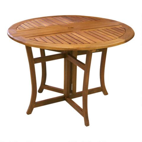 Round Wood Danner Folding Table Previous V3 V1