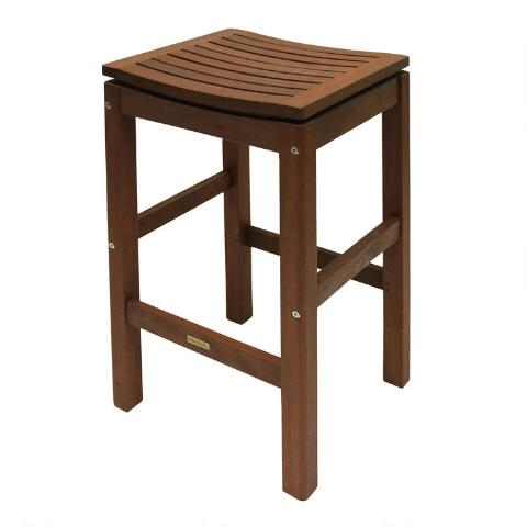 Peachy Wood Oreton Pub Stools Set Of 2 Gmtry Best Dining Table And Chair Ideas Images Gmtryco