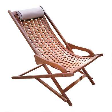 Eucalyptus Catania Swing Lounger With Pillow