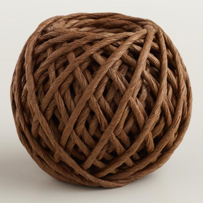 Brown Paper Cord Rolls, 2-Pack