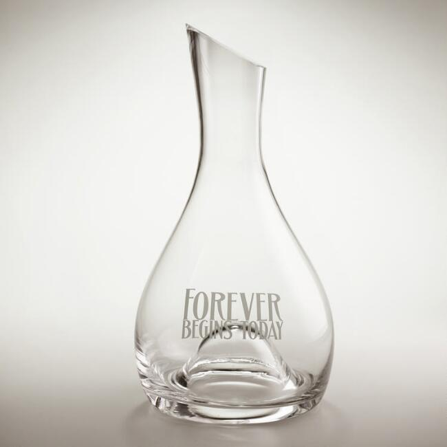 Forever Etched Wine Decanter