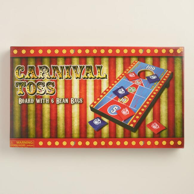 Retro Carnival Beanbag Toss Game