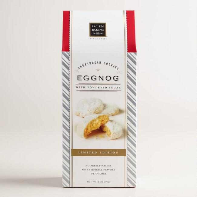 Salem Eggnog Shortbread Cookies