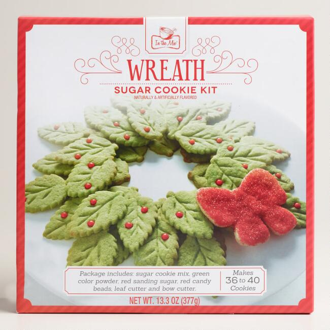 Cookie Wreath Kit, Set of 2