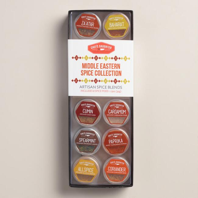 Middle Eastern Spices, 8-Pack