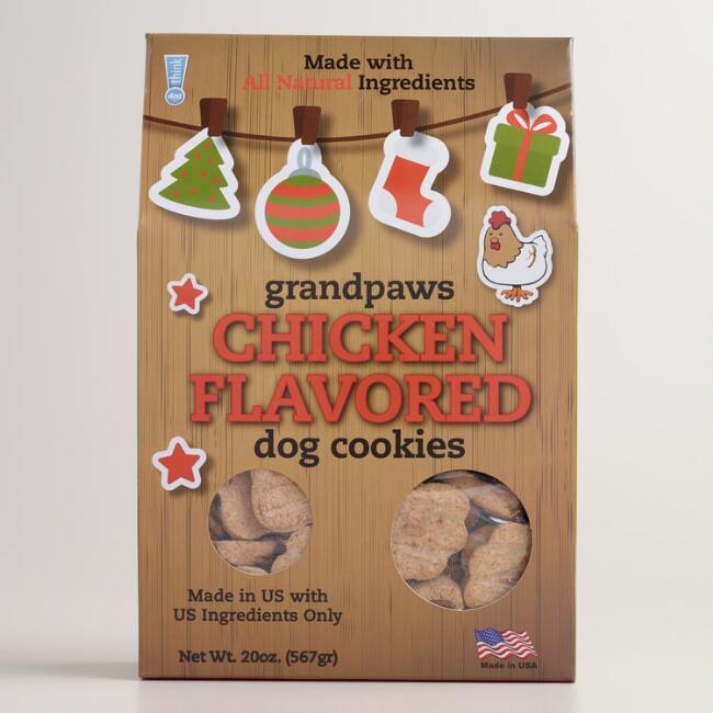 Grandpaws Chicken-Flavored Dog Biscuits