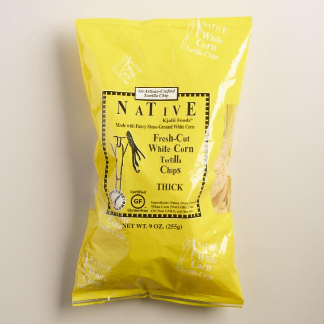 Native Kjalii White Corn Tortilla Chips