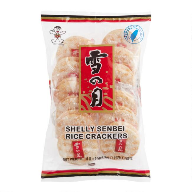 Shelly Senbei Japanese Rice Crackers
