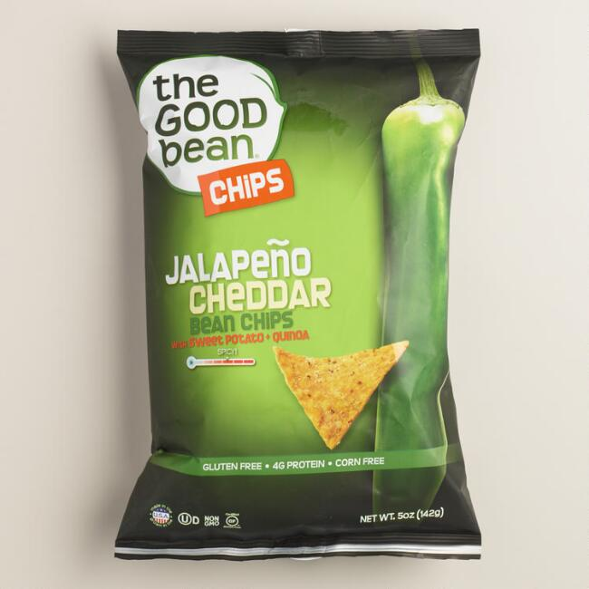 Good Bean Jalapeno Cheddar Chips