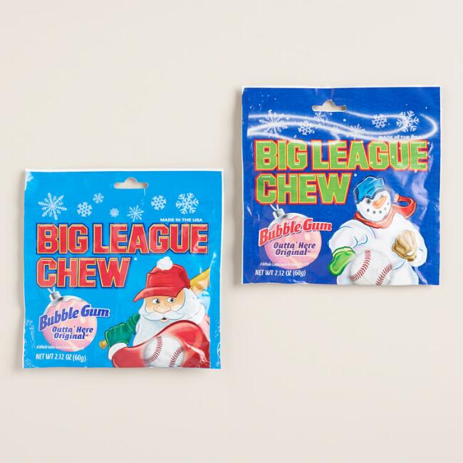 Ford Big League Chew Christmas Pouch