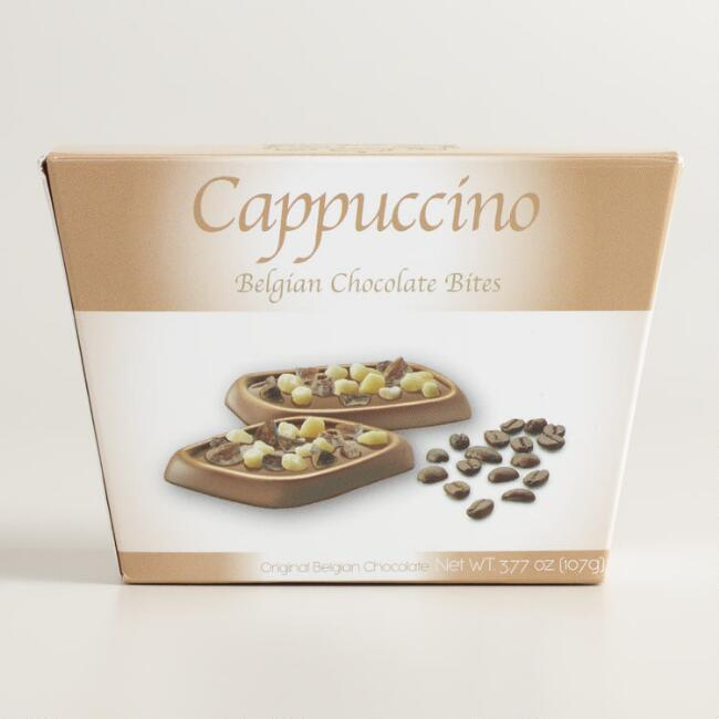 Cappuccino Milk Chocolate Bites
