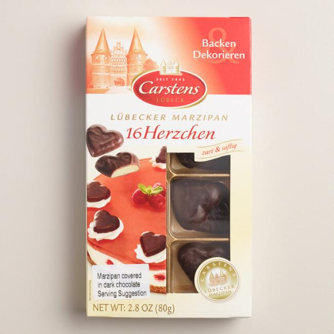 Horst Carstens Chocolate Marzipan Hearts