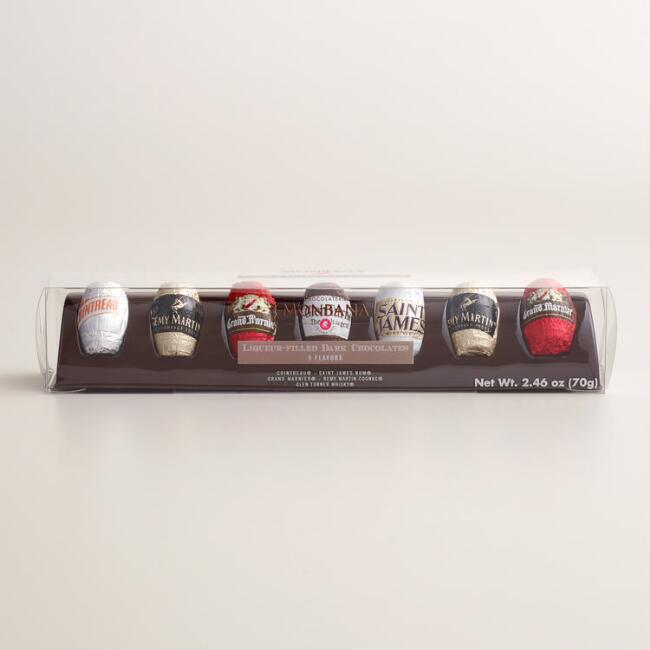 Monbana Liqueur Filled Chocolates, 7 Piece