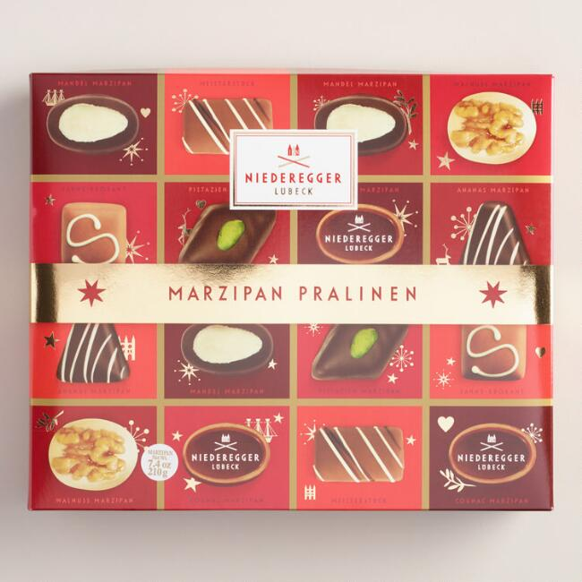 Niederegger Christmas Assorted Marzipan Chocolates