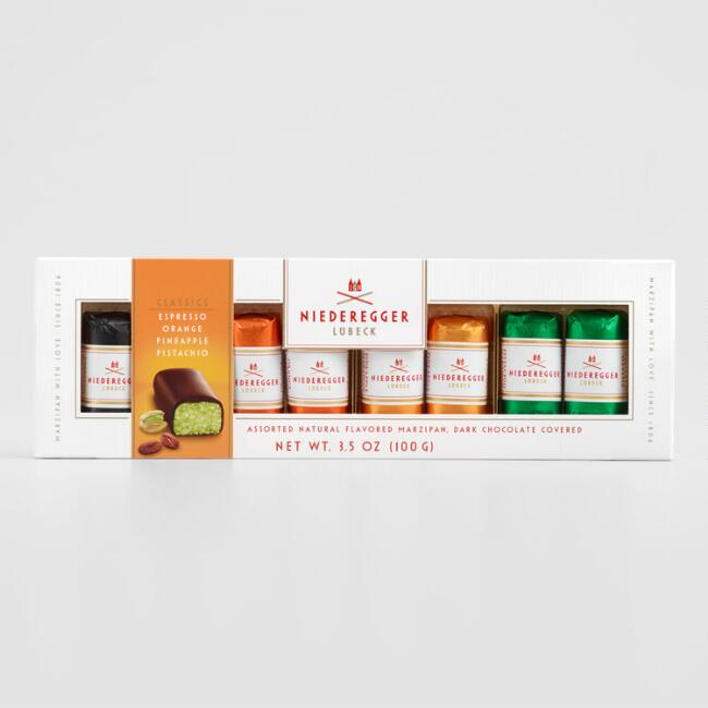 Niederegger Assorted Mini Chocolate and Marzipan Bars