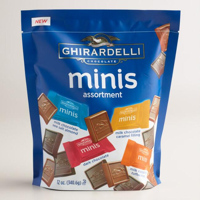 Extra Large Ghirardelli Assorted Chocolate Minis Bag