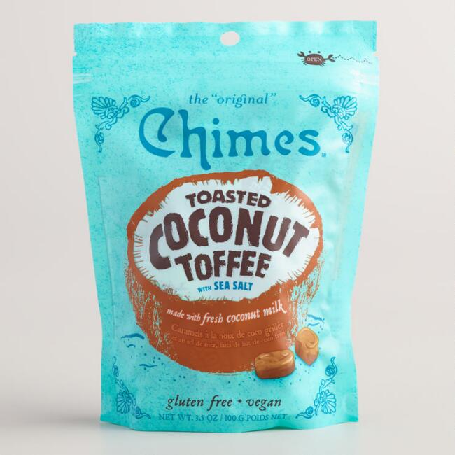 Chimes Toasted Coconut Toffee with Sea Salt Set of 12