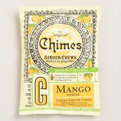 Chimes Mango Ginger Chewy Candy