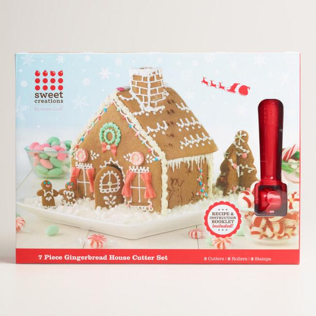 Mini 3 D Gingerbread House Cookie Cutter