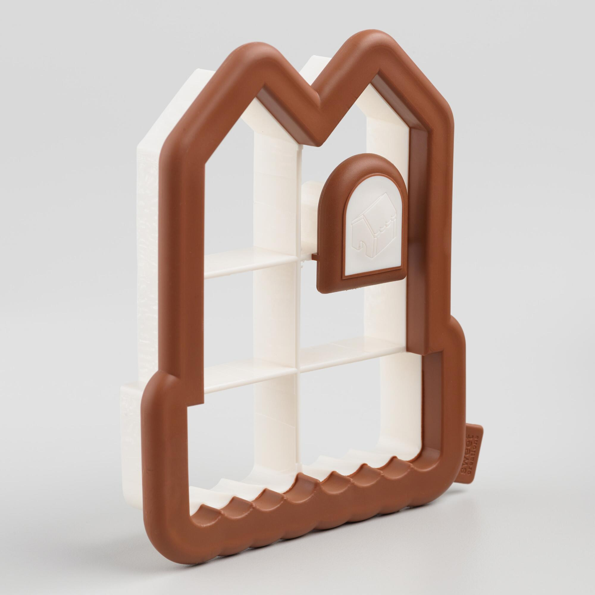 Gingerbread House Side-of-the-Cup Cookie Cutter by World Market