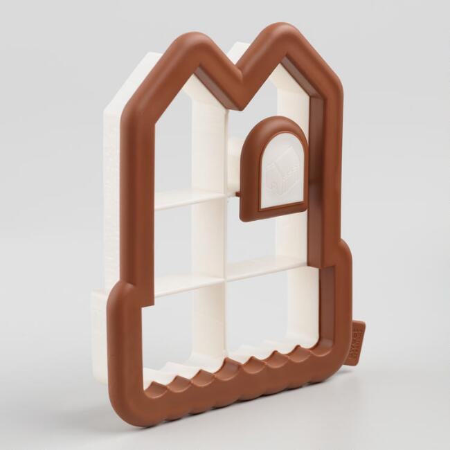 Gingerbread House Side-of-the-Cup Cookie Cutter
