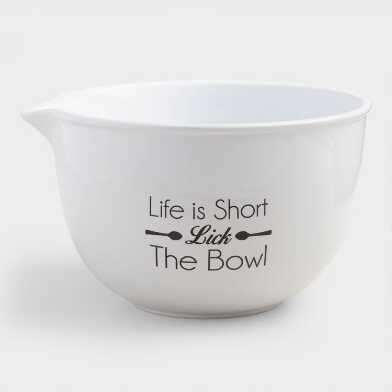 White Lick The Bowl Ceramic Mixing Bowl