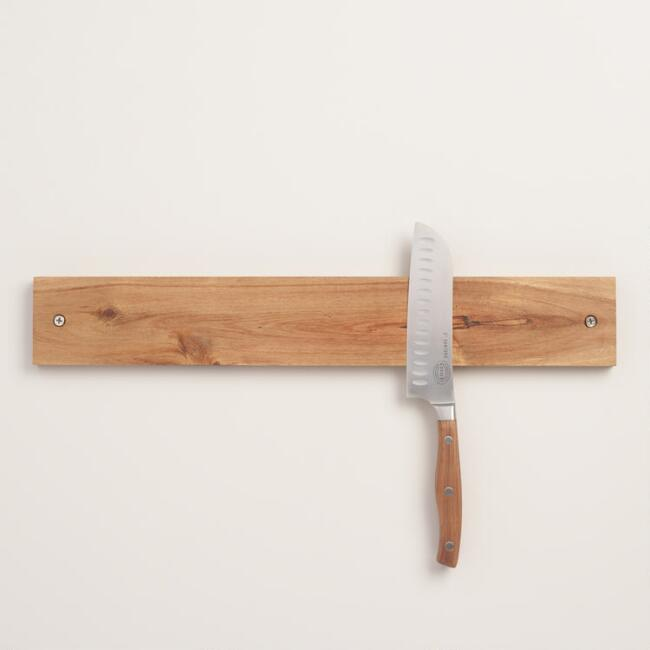 Wood Magnetic Knife Holder