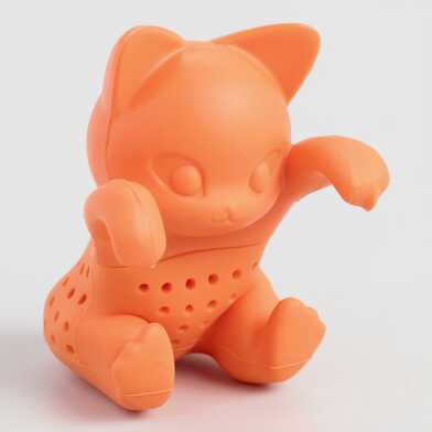 Kittea Cat Silicone Tea Infuser