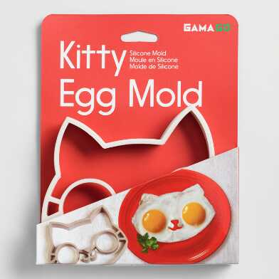 Kitty Silicone Egg Mold