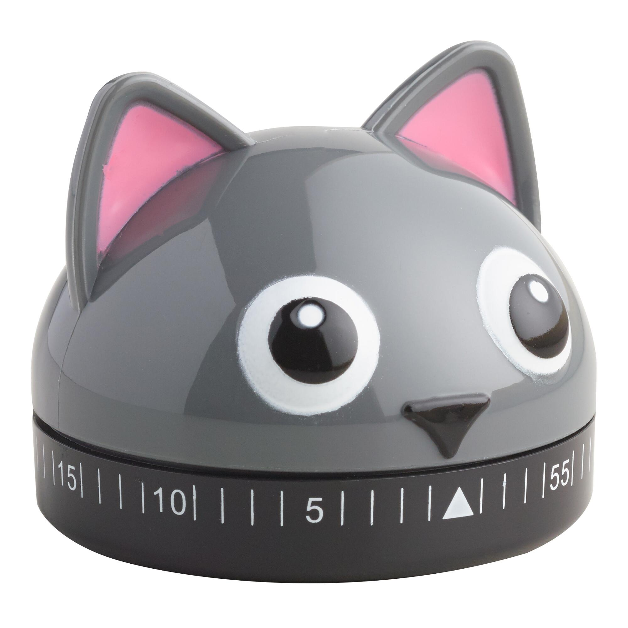 Cat Timer - Plastic by World Market