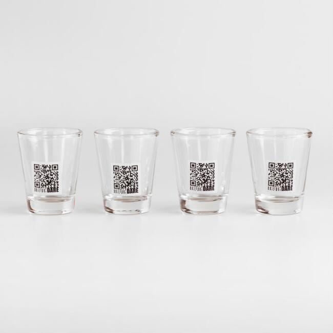 Truth or Dare Shot Glasses Set of 4